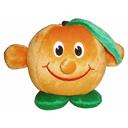 Toy soft Apelsinchik on a sucker