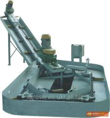 Conveyor navozouborochny TSN-160