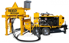 REED M2200 Pan Mixer with the REED B20HP Power