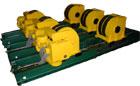 Rotator roller RV-403, / p 40000 kg.