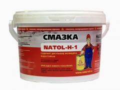 Waterproof and heat-resistant NATOL greasings