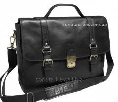 Кожаная сумка портфель Katana