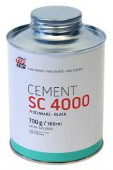 Cement SC glue of 4000 0,7 kg black