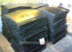 Technical plate of TMKShch of 14 mm in sheets of 14 mm x 1000 mm x 1000 mm