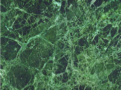 Marble green. 20 types of marble in a warehouse in