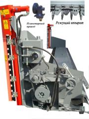 The device for cleaning of colza with a hydraulic