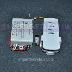 Контроллер пульт дистанционного управления светом для люстры, светильника SVET трёхканальный