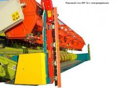 Приспособление для уборки рапса с электроприводом