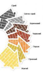 Brick facing hyper pressed Vinnytsia, Ukraine