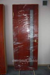 Wooden door d9, a door from a natural pine, a door