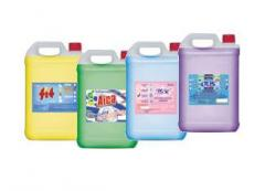 Detergents for ware and liquid soap in canisters