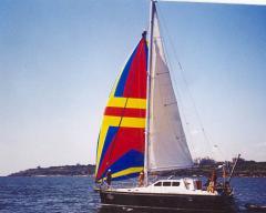 Парусно-моторная яхта `НАВИГАЛЬ-1256`