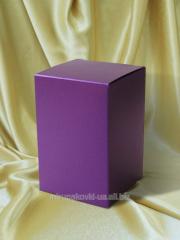 Box usual of a cardboard 213х133х25