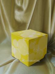 Box usual of a cardboard 145х70х105