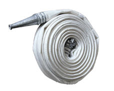 Production of a fire pressure head hose d-32, 38,