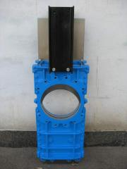Bi-directional knife gate valve with a knife Do