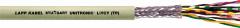 Кабели UNITRONIC LIYCY (TP) 4X2X0,25 (LAPP Kabel) передачи данных  с оптимальным экранированием, парная скрутка жил