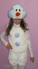 Новогодний костюм Снеговика 2050-А