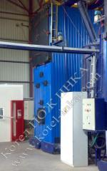 Котел газогенераторный твердотопливный марки ПОЖ ИНКА мощностью от 100 до 5000 кВт