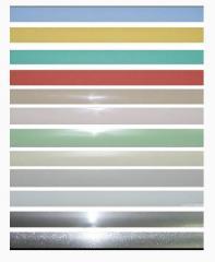 Жалюзі горизонтальні кольорові