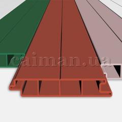 Board plastic, terrace, a board from PVC plastic,