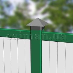 Plastic PVC fence, metallplastikovy fence