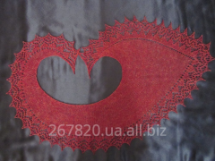 "Lacy Roll a shawl"" (handwork)"