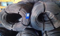 Проволока вязальная общего назначения термическиобработанная (вязальная) для увязки  арматуры диаметрами 1,0 мм; 1,2 мм; 1,4 мм  ГОСТ 3282-74. Сертификат качества