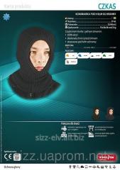Подшлемник трикотажный с вырезом для лица CZKAS 5907522912741