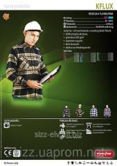 Рубашка рабочая мужская KFLUX Рубашка теплая 5907522904951