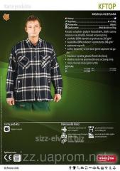 Рубашка рабочая мужская KFTOP Рубашка теплая 5907522915148