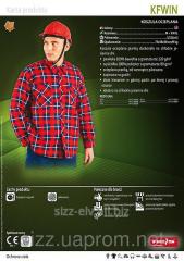 Рубашка рабочая мужская KFWIN Рубашка утеплена Рубашка теплая 5907522915193