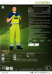 Полукомбинезон дорожника LH-CONTREX 5907522933623