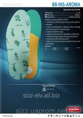 Стельки для обуви для устранения запаха BR-INS-AROMA 5907522981716