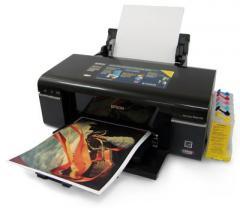 Комплект принтер Epson T50 + СНПЧ + WWM, продажа в