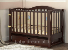 Детская кроватка Prestige 5 маятник резьба Baby