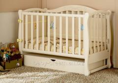 Prestige 5 crib pendulum Baby Dream carving