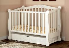 Baby Dream crib Prestige 8 white