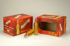 Box for No. 2 BEER packaging