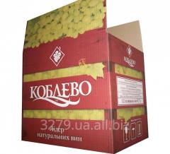 Ящик для упаковки ВИНА №1