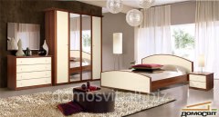 Bedrooms, nurseries, wooden furniture natural in a