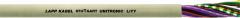 Неэкранированный, низкочастотный, кабель UNITRONIC LiYY 4X0,25 (LAPP Kabel) передачи данных с цветовой маркировкой жил