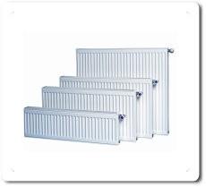 Steel radiators of panel type