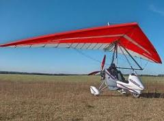 Motorized hang gliders