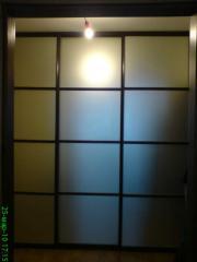 Художественное матирование стекол и зеркал