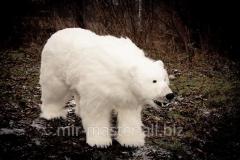 Effigy of a polar bear