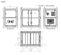 Dehumidifier of MDC6000 Customized air