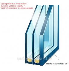 Double-glazed windows armor in Lysychansk