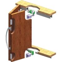 Sliding system 03MKK-2 for doors and a sliding