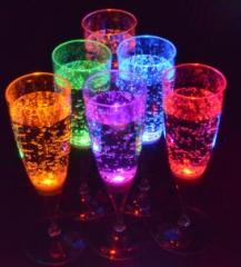 Glass of LED-Glass-01 champagne glass